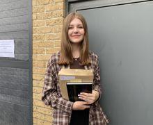 Freja clark 16 corringham plans to study medicine at unviersity after sixth form